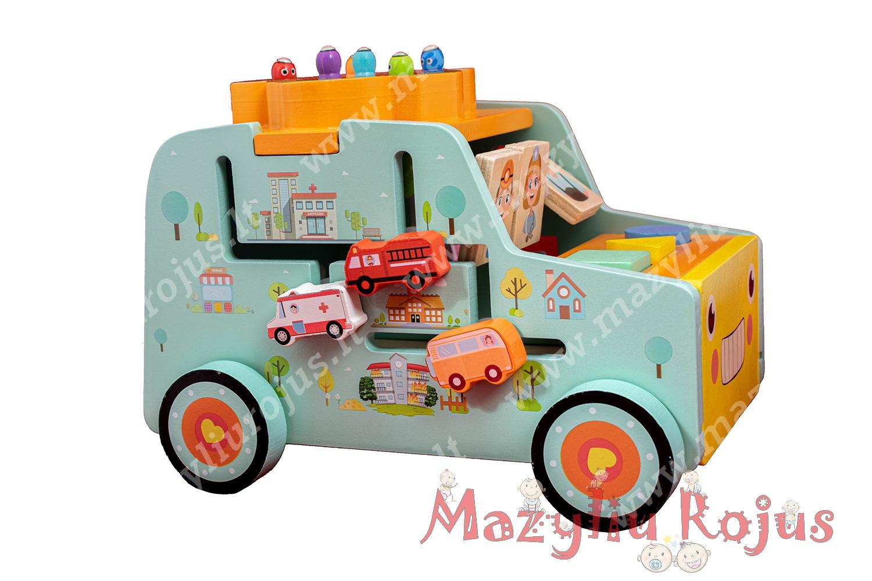 """Multifunkcinis žaislas """"Žaidimų automobilis"""""""