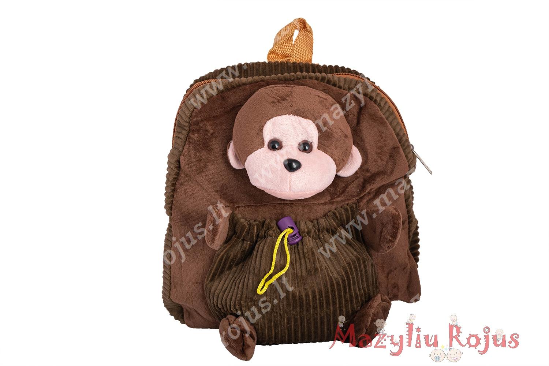 Vaikiška kuprinė su kišenėle