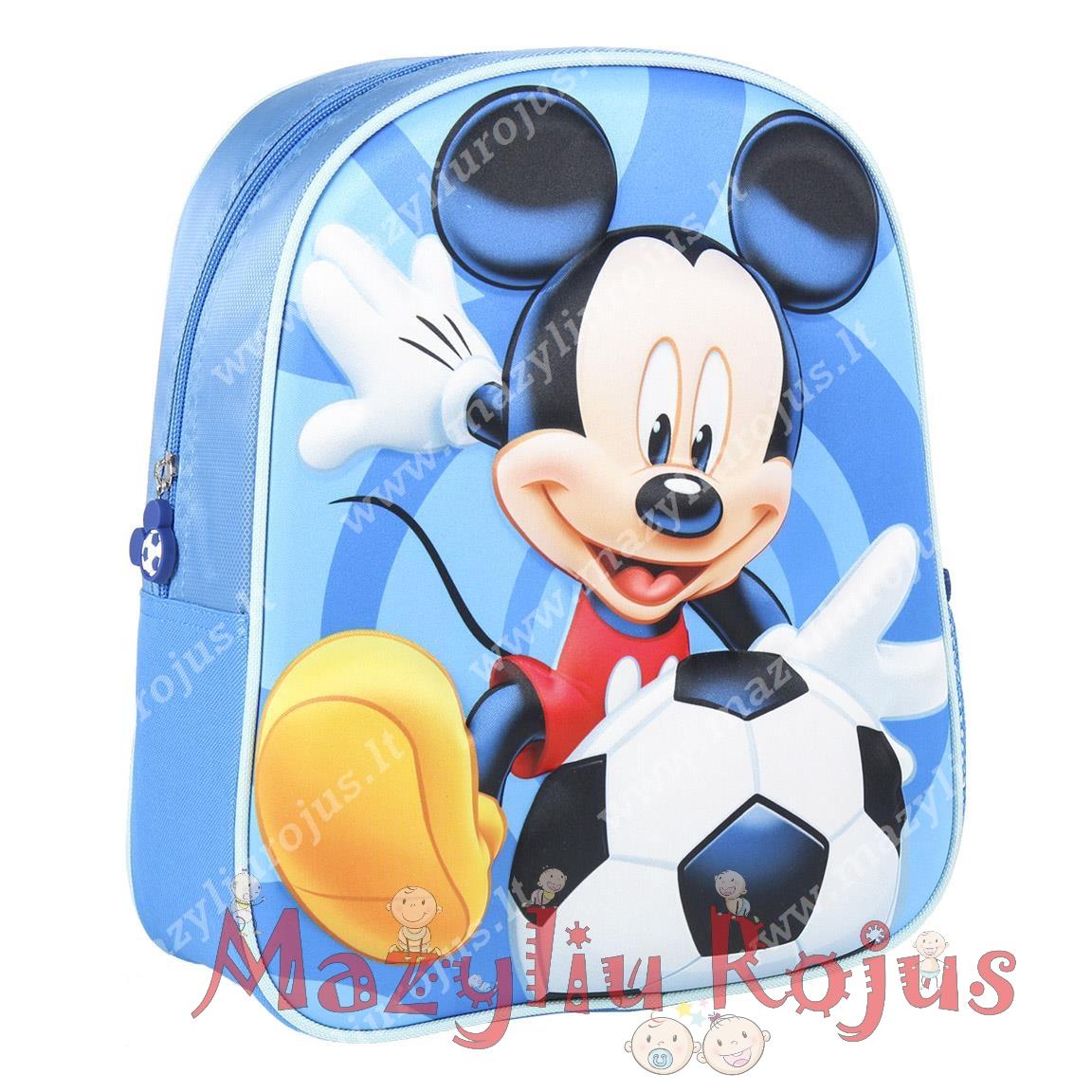 """Vaikiška 3D kuprinė """"Peliukas Mikis"""""""