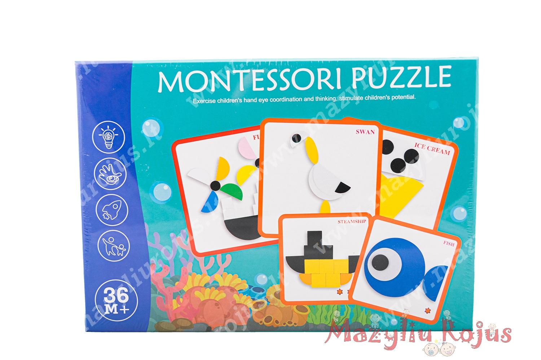 Montessori dėlionė