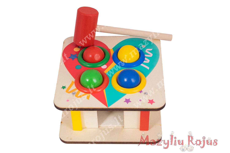 Montessori kamuoliukai