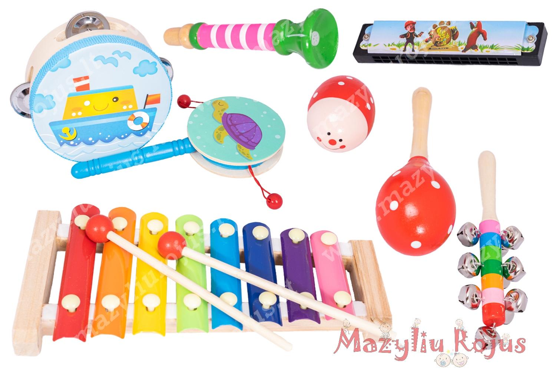 Muzikinių instrumentų rinkinys